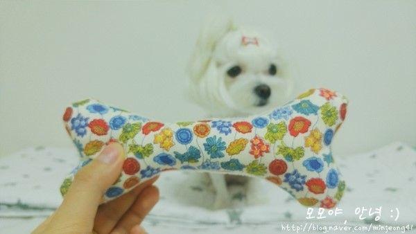 강아지 장난감 만들
