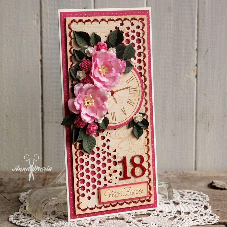 Kartka na osiemnastkę