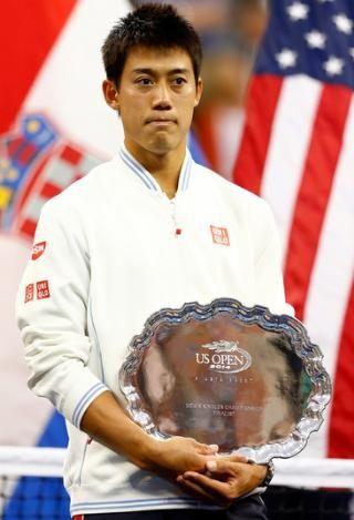 Nishikori tinha como meta chegar a uma semi de Slam
