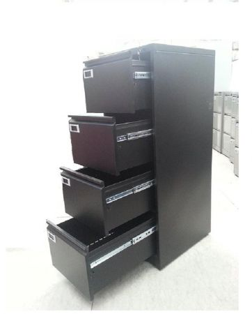 archivador metálico para carpetas de 4 gavetas