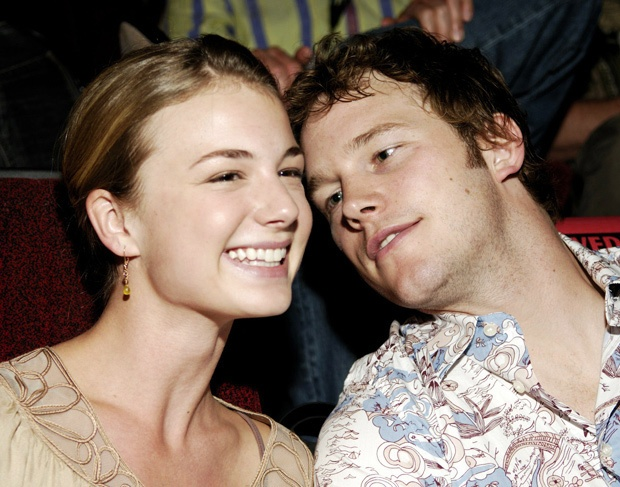 Emily Vancamp Chris Pratt Emily VanCamp a...