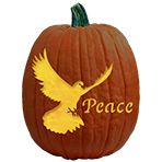 Pumpkin Carving Patterns and Free Pumpkin Carving Patterns and Stencils for your Halloween Jack O Lantern - Peace Dove