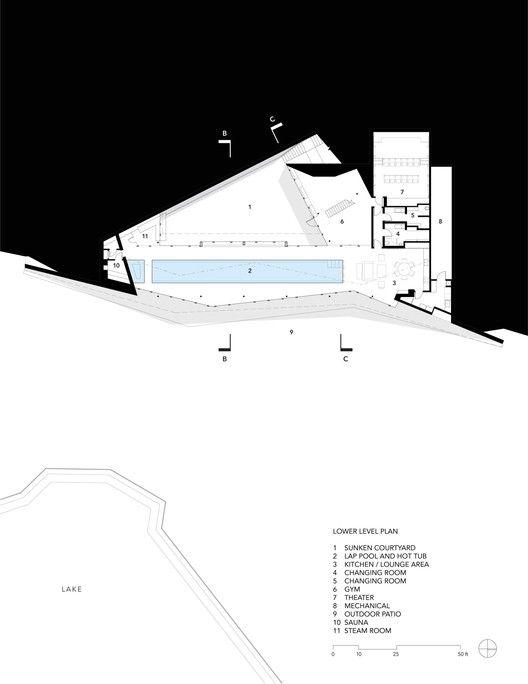 Pool Pavilion,Plan