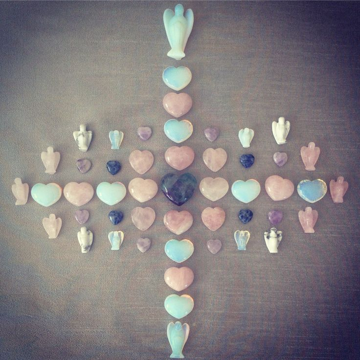 Crystal Angel Grid - Angel Love & Angel Protection for all :-) Xxx