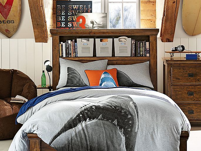 Oxford Shark Bedroom | PBteen - 33 Best Shark Bedroom Images On Pinterest Sharks, Shark Bedroom