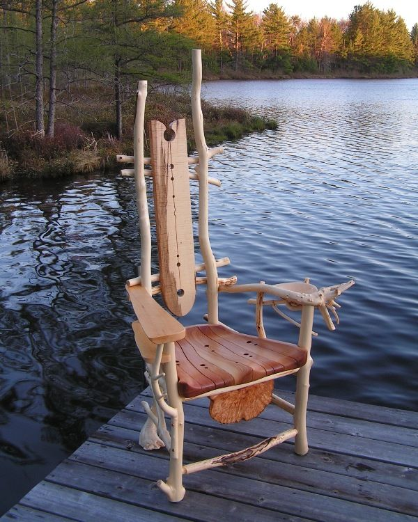 Sitedelux cool chair chairs en 2019 mobilier de salon chaise fauteuil et bois flott - Chaise bois flotte ...