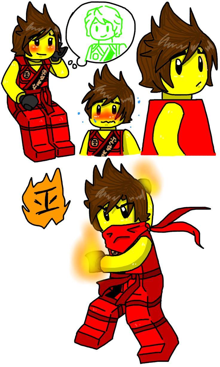 10 best images about ninjago lloyd kai cole jay zane on pinterest the ninja fanart and - Ninjago lloyd and kai ...