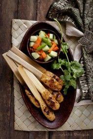 Balinese chicken sate