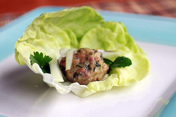 Vietnamese Meatballs  Great as appetizer or on a sandwich