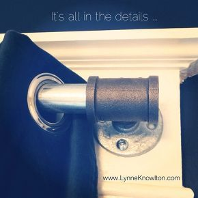 diy curtain rod pipe industrial, diy, home decor, plumbing