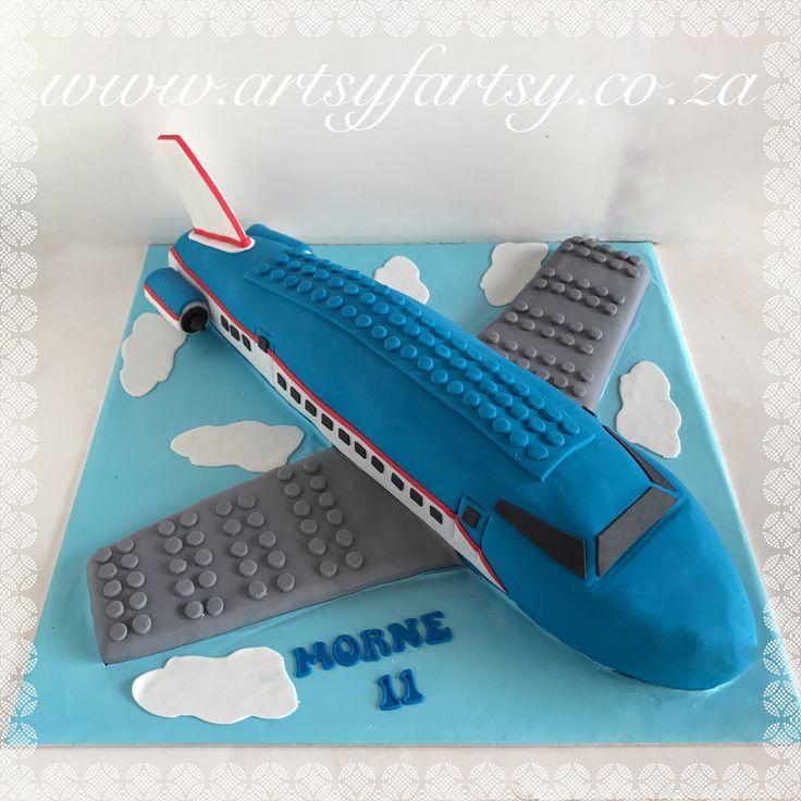 Lego Aiplane Cake #legoairplanecake