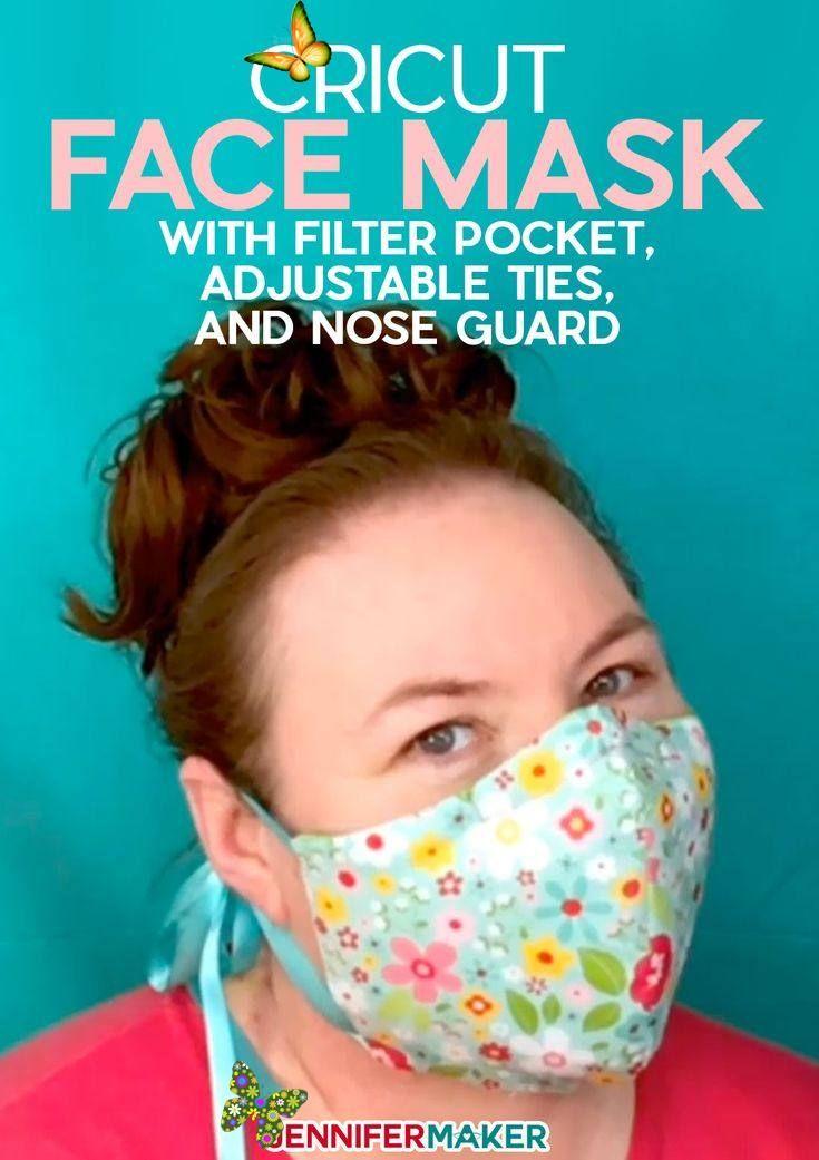 Download DIY Face Mask Patterns - Filter Pocket & Adjustable Ties ...