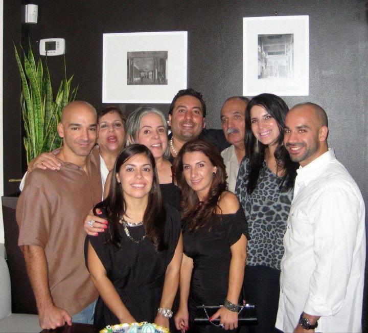 Miembros de las familias Martinez Serrano, Martínez Arevalo y Vega Martínez