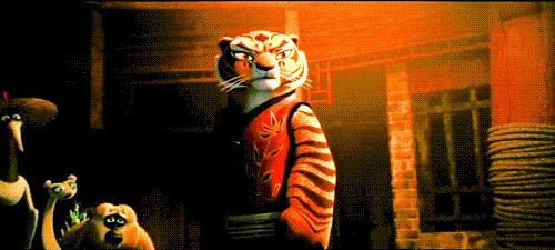 "Viper: ""Tigress no!"" *Tigress hugs Po* Viewers go ""Awhhh!"" I ship Tigress and Po :3 -Makenna"