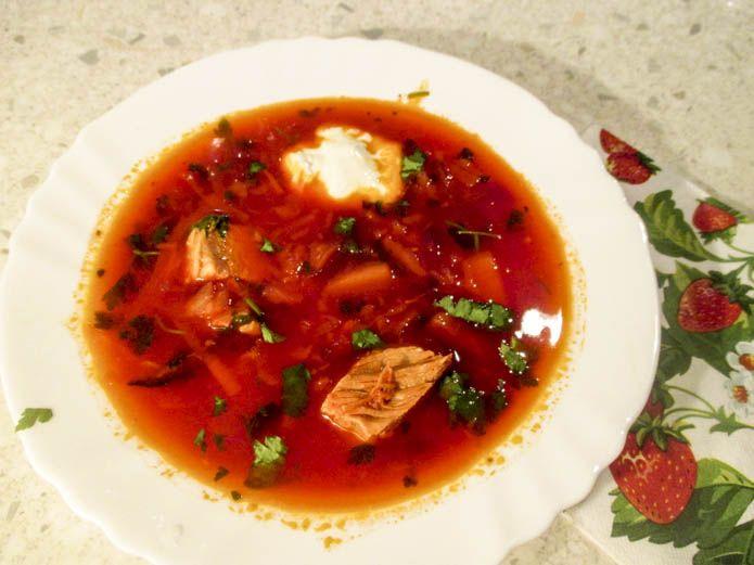 Украинский борщ, пошаговый рецепт с фото