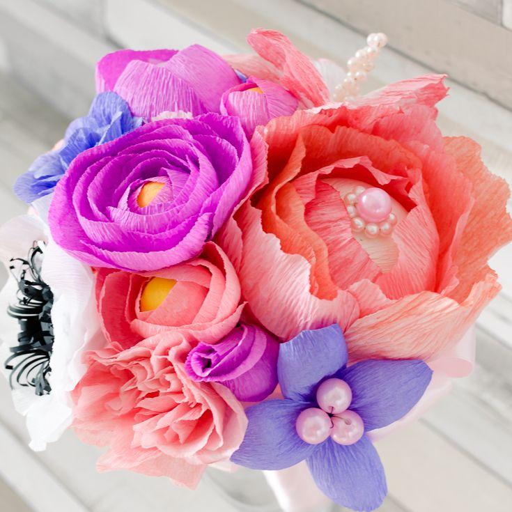Paper Flowers in Romania