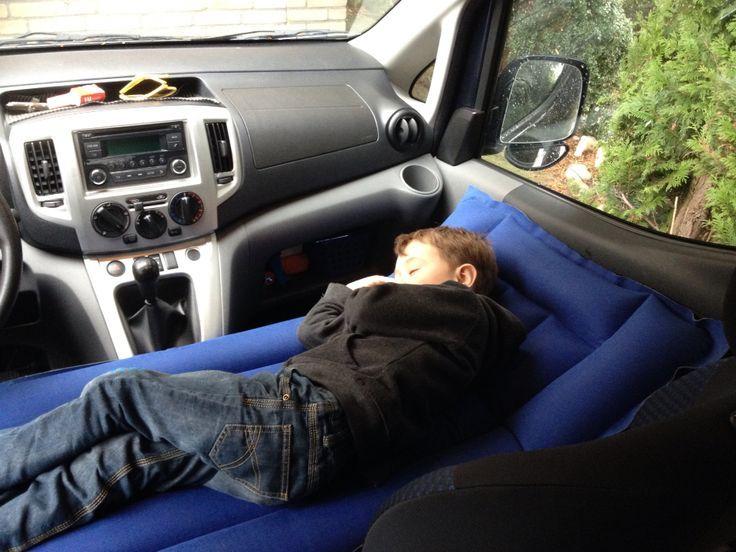 air mattress on van seat - Google Search                                                                                                                                                      More