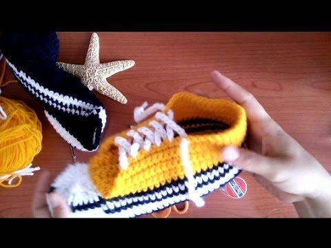 WATCH How To Crochet Espadrille Soles - part 1 of 2 (4 Righties) - YouTube
