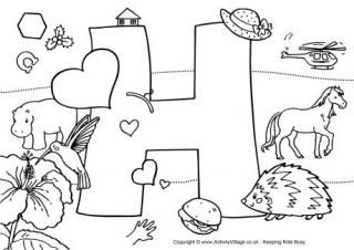 letter sounds coloring pages - photo#36