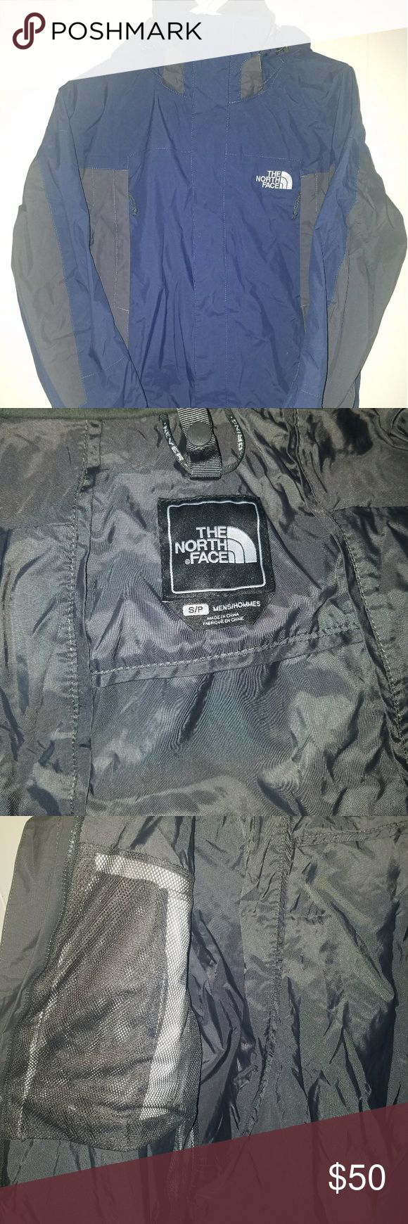 The North Face Condor Hyvent Triclimate Jacket Excellent used condition. Shell only. All the snaps pulls, zippers and velcro attachments are in working order. Hood is removable. Contains a set of zippered pockets on each side of the front. The North Face Jackets & Coats