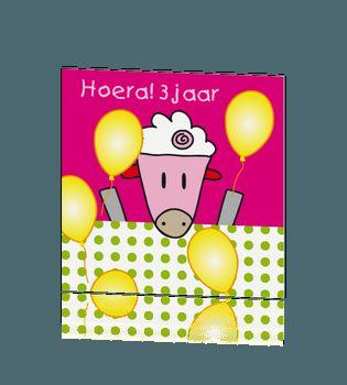 Heppi kinder uitnodiging feest schaap jop de giraf. #verjaardagskaart #kinderfeestje