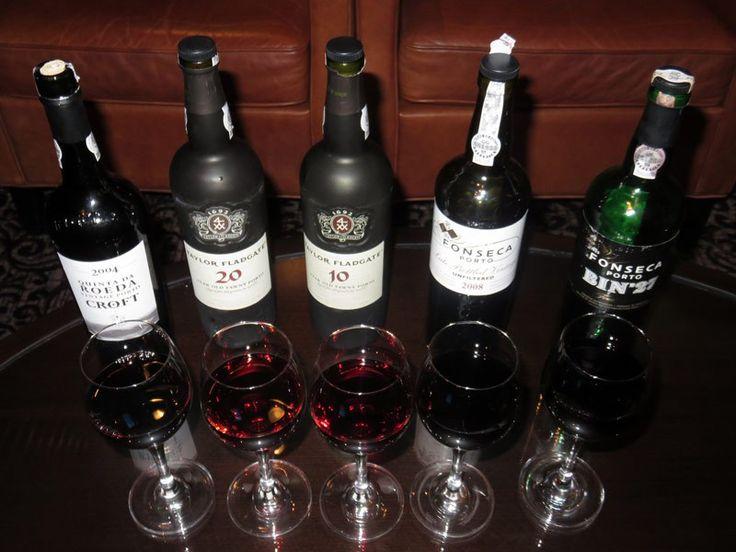 Port Tasting at Cellar Masters