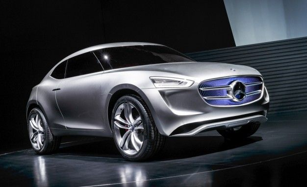 This Mercedes Concept Gathers Solar and Wind Energy Using Its Paint