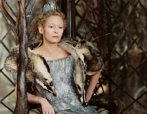 Tilda Swinton as Jadis the White Witch in the Lion the Witch and the Wardrobe (2005)  45 when filmed.