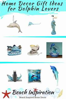 Home Decor Gift Ideas For Dolphin Lovers Beach House Gift Ideas
