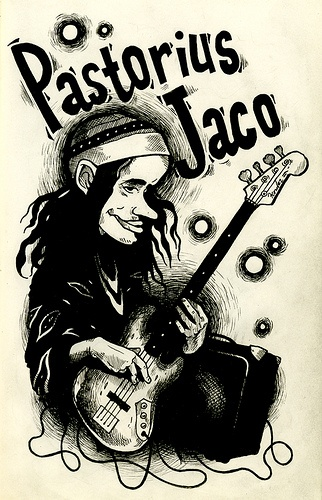 | Jaco Pastorius | by ilookhoo, via Flickr