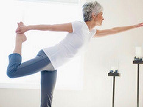Йога после 50 лет: простые упражнения - YouTube