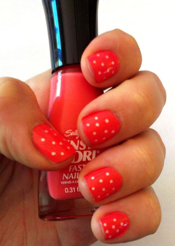 Summer style polka dots