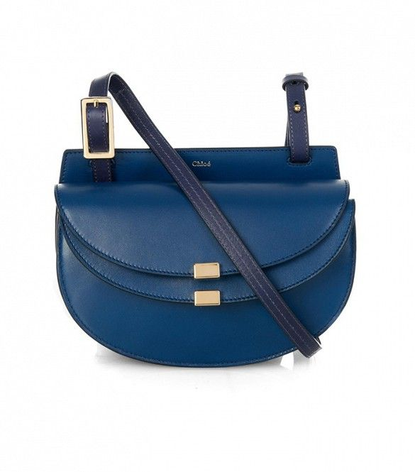 Chloé Georgia Mini Leather Crossbody Bag