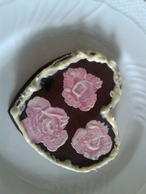 Rose su cioccolata