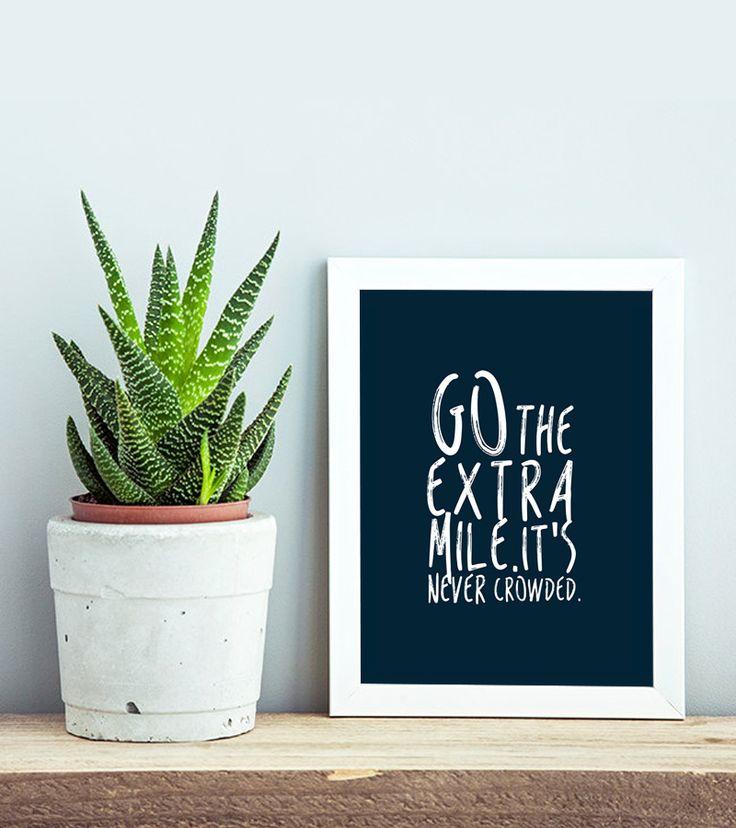 Go The Extra Mile Free Printable