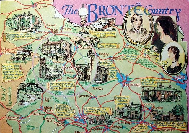 Vintage Postcard Bronte England