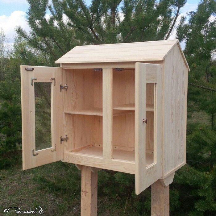 Original Blessing Box Big Pantry Or Library Neighborhood