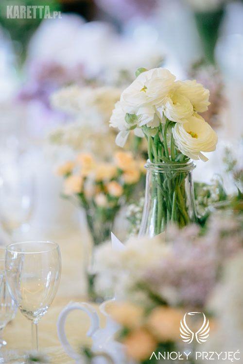 3. Lilac Wedding,Table decor / Wesele z bzem,Dekoracja stołów,Anioły Przyjęć