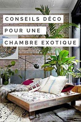 dcouvrez nos conseils dco pour une chambre exotique nous vous proposons un condens d - Chambre Exotique