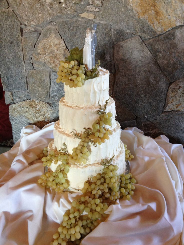 Wedding cake inspired by the happy couple