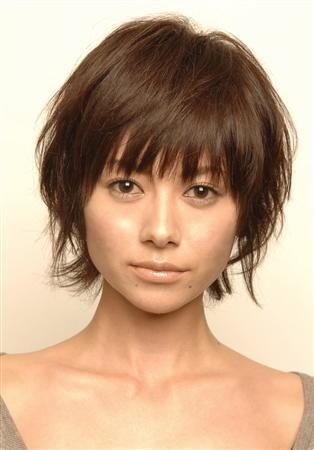 画像 : 髪型を真似したい芸能人【真木よう子】ショートヘアスタイル画像集 - NAVER まとめ