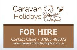 Caravan Holidays Hopton | Static caravans for hire at Haven's Hopton Holiday Village in Norfolk.