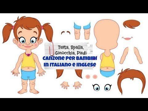 Canzone 'Testa, Spalle, Ginocchia, Piedi' - Inglese per bambini