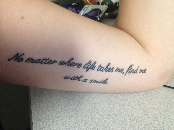 This will be my first tattoo. Mac Miller Quote