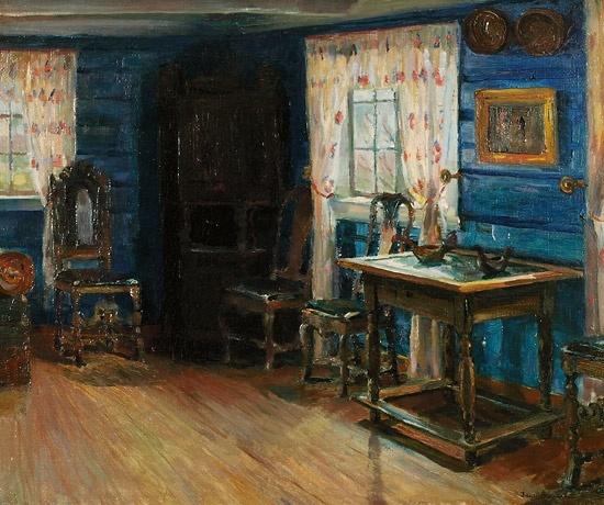 Jacob Sømme (1862-1940): Interiør