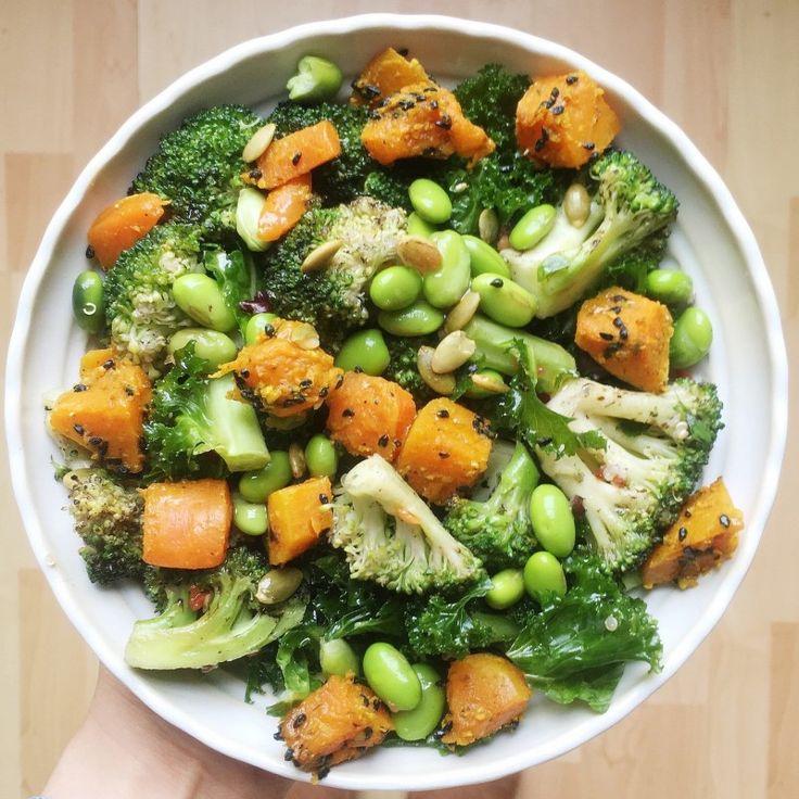 Green Detox Salad - Madeleine Shaw