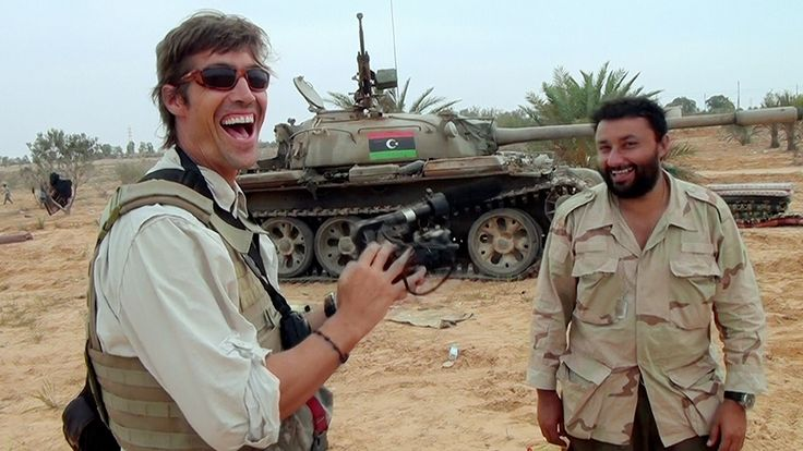 "James Foley loving people and believing everybody deserves an equal chance: https://www.youtube.com/watch?v=noYvZ8_Dn_M Documentary by childhood friend Brian Oakes. End of Q & A: ""He makes me want to be a better person each day."""