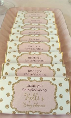 Our personalised chocolate bars look stunning on your dessert or candy buffet and are a gorgeous little take home favour for any event! Each bar is 25grams in weight, andmade from high-quality and delicious European chocolate. Our printed chocolate bar wrappers are professionally laser printed on glossy paper and come attached to the chocolate bar. …