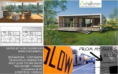 Les 25 meilleures id es concernant constructeur maison container sur pinteres - Cout maison container ...