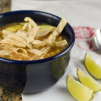 Crockpot Chicken Tortilla Soup - Click image to find more Food & Drink Pinterest pins
